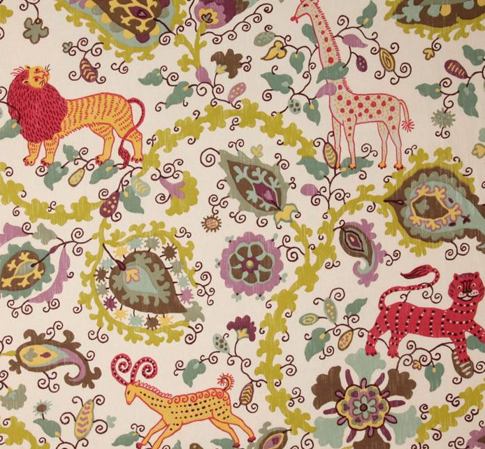 Braemore Maneka fabric will be such a fun print that will grow with her.